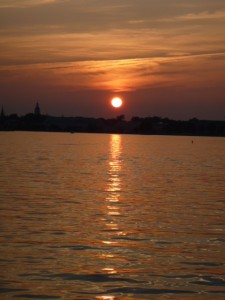 Sunset over Annapolis.....