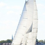 Beautiful day sailing on the schooner in September