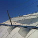 Sails and bright clear blue sky