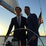 LBGT wedding on board the schooner