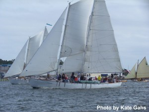 The Wooden Boat Regatta in Annapolis photo by Kate Gahs
