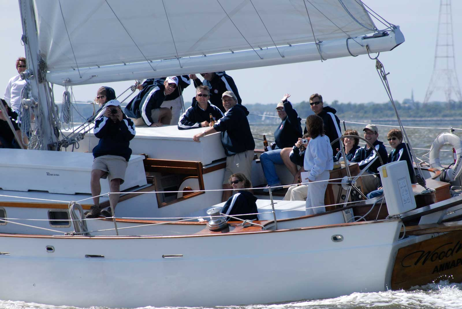 Team Building on The Schooner Woodwind