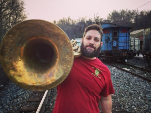 Jason Ager sings aboard the Schooner Woodwind