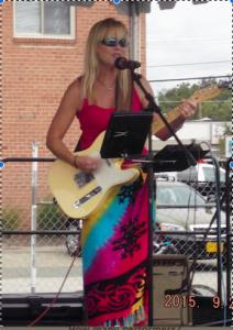 Deanna Dove sings aboard the Woodwind