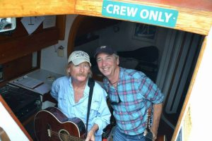Sunset sail with The Eastport Oyster Boys entertainers