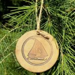 Woodwind pottery Christmas ornament