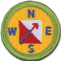 Orienteering badge