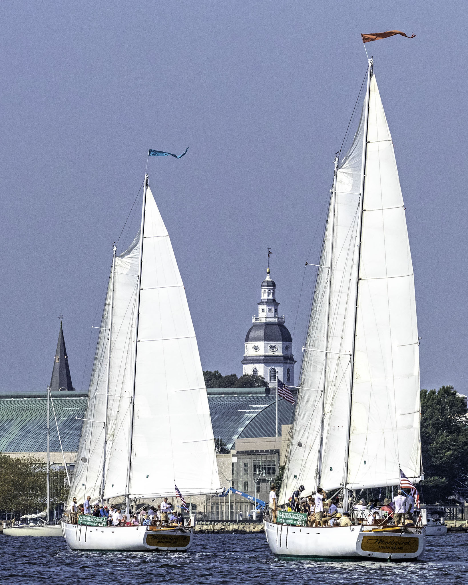Both Woodwinds with Annapolis Capital Building