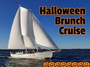 Come sailing on our Halloween Brunch Cruise!
